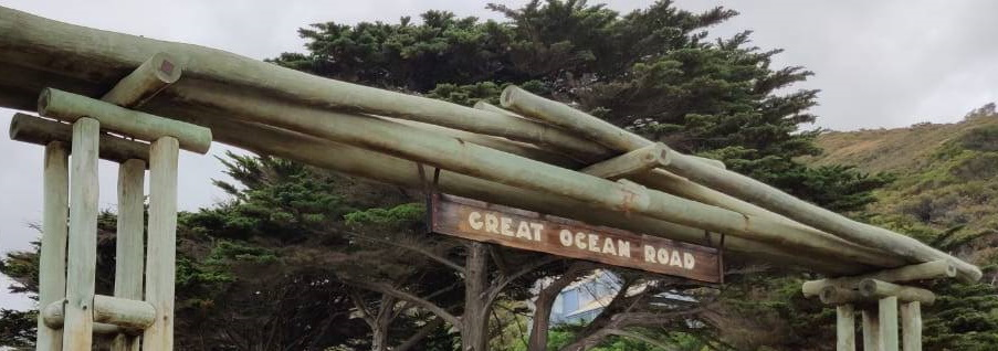 Original Great Ocean Road Sign